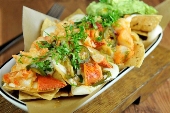 Sous Vide Lobster Nachos