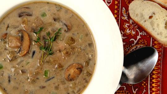 Canadian Wild Mushroom Soup