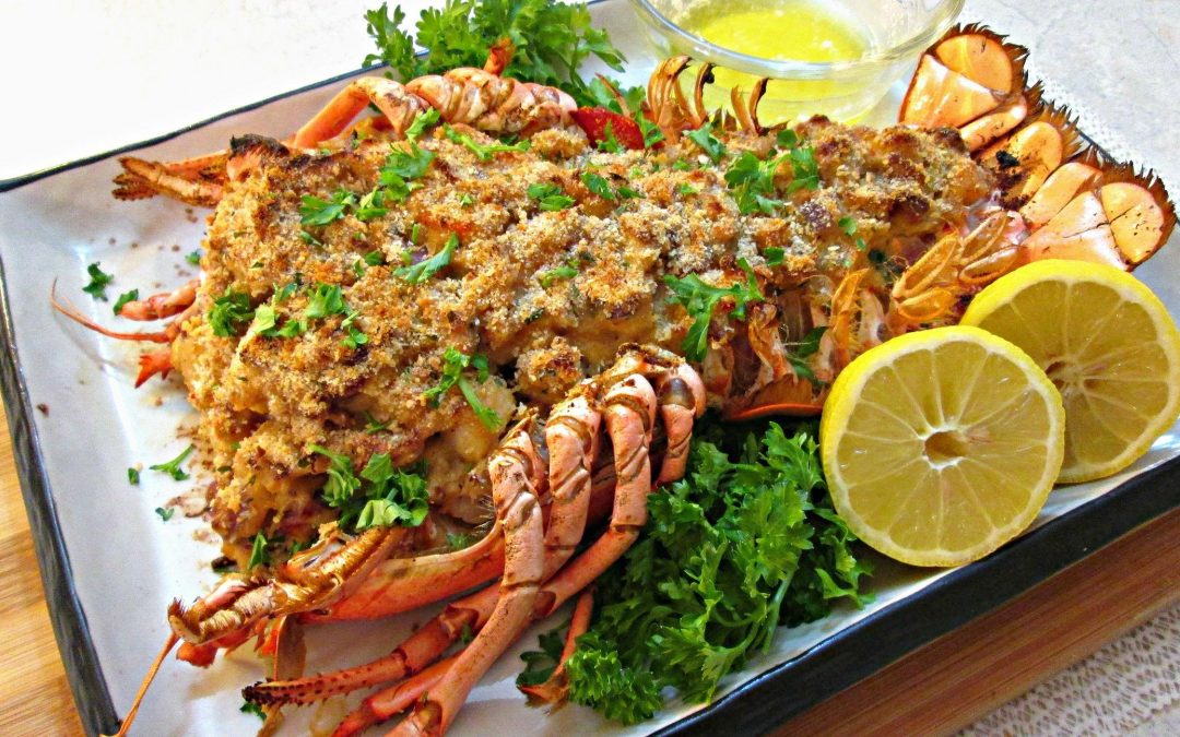 Stuffed Seafood Lobster