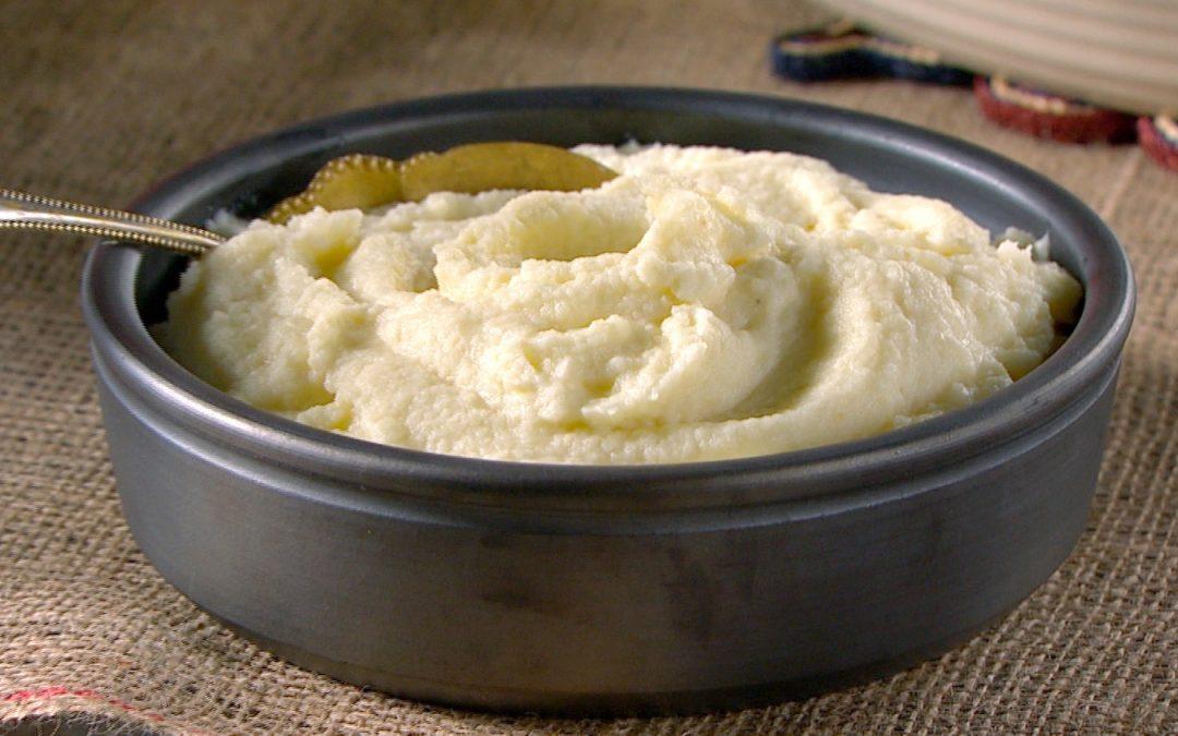 Potato Tartar Purée
