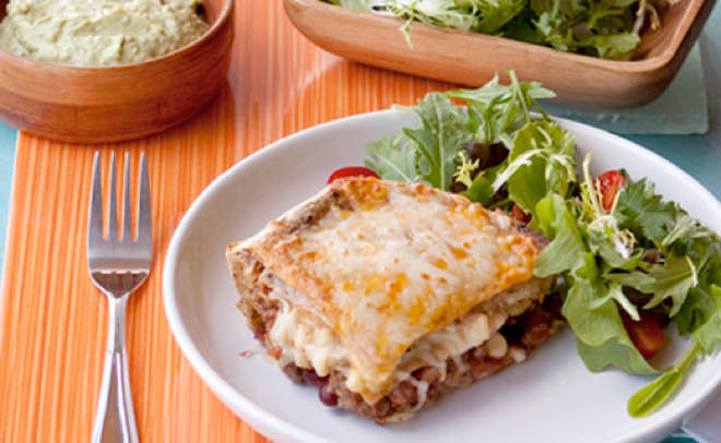 Mexican Tortilla Lasagna
